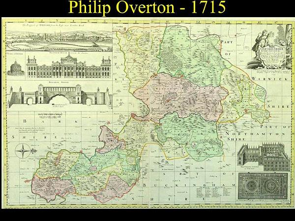 overton map of oxfordshire 1715jpg