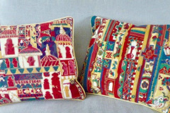 Cathy Lawday: Colourful Tapestry Cushions