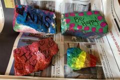 Isobel Coysh (age 3): Rainbow Rocks