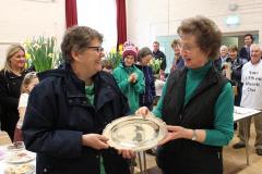 10. Daphne Preston Sheila Ballard share the Flower Cup