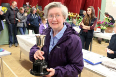 11. Janet Coley won the Handicraft Cup
