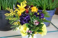 4. Vase of Spring blooms