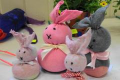 8. A bunny family