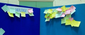 MCNP meeting post-it notes