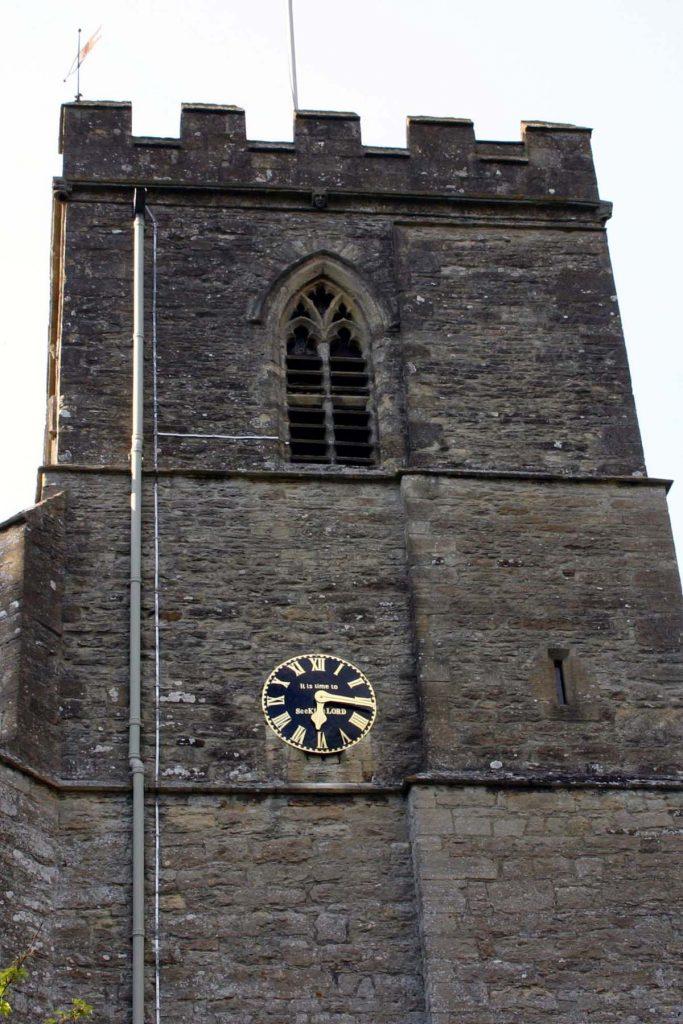 Steeple Aston chiuch belltower