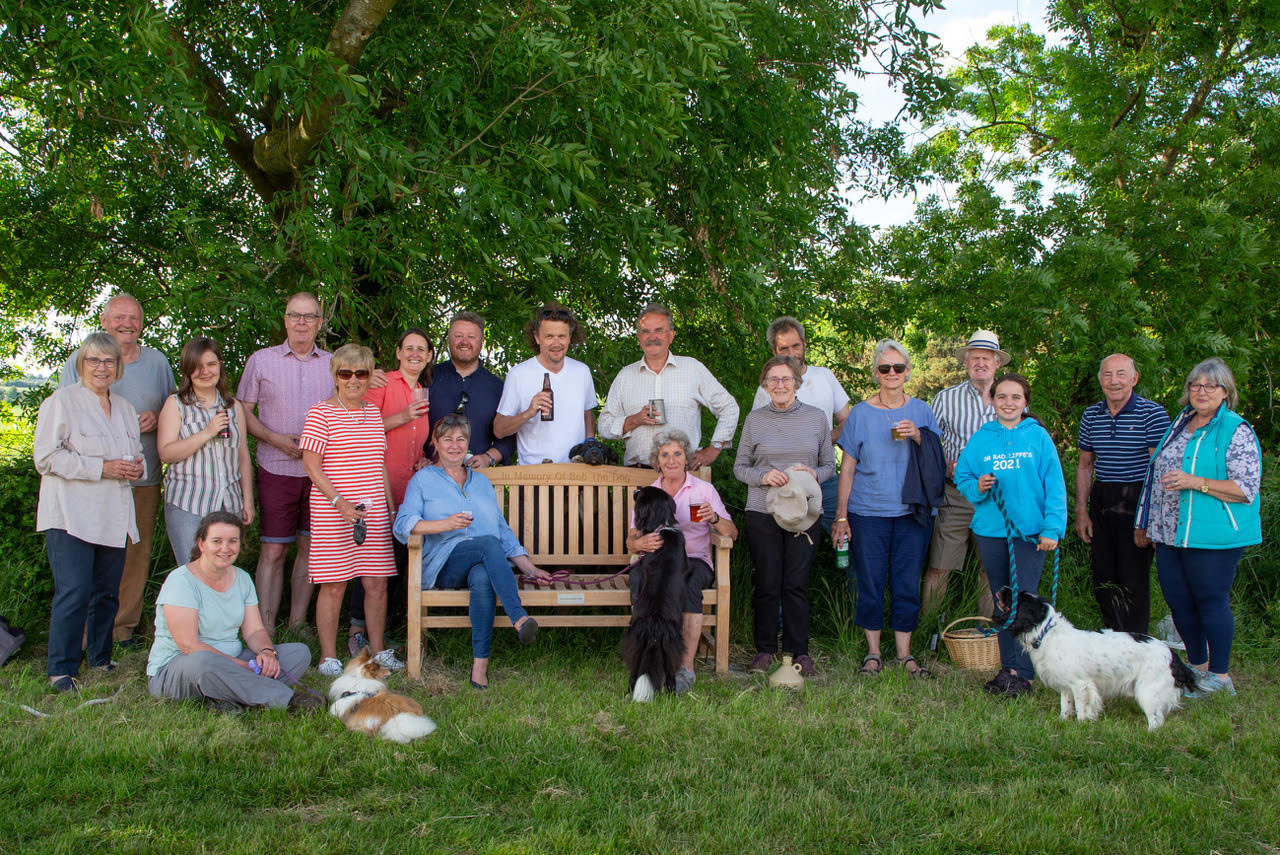 Friends with Bob's Bench